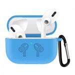 Чехол Synapse Buckle2 Case для Apple AirPods pro (голубой, силиконовый)