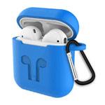 Чехол Synapse Buckle2 Case для Apple AirPods 1/2 (голубой, силиконовый)