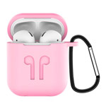 Чехол Synapse Buckle2 Case для Apple AirPods 1/2 (розовый, силиконовый)