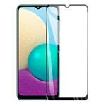 Защитное стекло Yotrix 3D Pro Glass Protector для Samsung Galaxy A02 (черное)