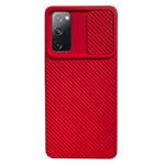 Чехол Yotrix DefenseCam 2 для Samsung Galaxy S20 FE (красный, гелевый)