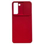 Чехол Yotrix DefenseCam 2 для Samsung Galaxy S21 (красный, гелевый)