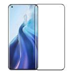 Защитное стекло Yotrix 3D Pro Glass Protector для Xiaomi Mi 11 lite (черное)