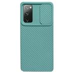 Чехол Yotrix DefenseCam 2 для Samsung Galaxy S20 FE (бирюзовый, гелевый)