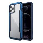Чехол X-doria Defense Shield для Apple iPhone 12/12 pro (темно-синий, маталлический)
