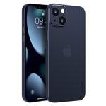 Чехол memumi Slim case для Apple iPhone 13 (темно-синий, пластиковый)