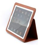 Чехол YooBao Leather case для Apple iPad 2 (кожаный, коричневый)
