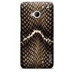 Чехол Yotrix ArtCase для HTC One 801e (HTC M7) (рисунок Змея, пластиковый)