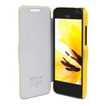 Чехол Nillkin Fresh Series Leather case для HTC Desire 300 301E (желтый, кожанный)
