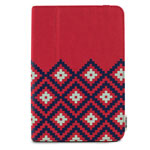 Чехол X-doria SmartStyle case для Apple iPad mini/iPad mini 2 (Tribal Red, матерчатый)