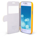 Чехол Nillkin Fresh Series Leather case для Samsung Galaxy Trend 3 G3502U (желтый, кожанный)