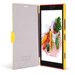 Чехол Nillkin Fresh Series Leather case для Nokia Lumia 1520 (желтый, кожанный)