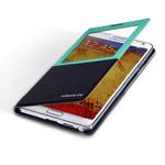 Чехол Nillkin Smart Case для Samsung Galaxy Note 3 N9000 (голубой/черный, кожанный)