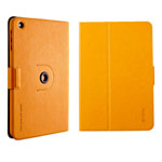 Чехол Totu Design Rotation Leather Case 360 для Apple iPad mini/iPad mini 2 (желтый, кожанный)