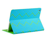 Чехол Totu Design Rayli Leather Case для Apple iPad Air (голубой, с рисунком)