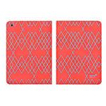 Чехол Totu Design Rayli Leather Case для Apple iPad Air (красный, с рисунком)