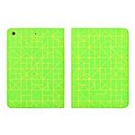 Чехол Totu Design Rayli Leather Case для Apple iPad Air (зеленый, с рисунком)
