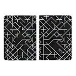 Чехол Totu Design Rayli Leather Case для Apple iPad Air (черный, с рисунком)