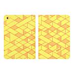 Чехол Totu Design Rayli Leather Case для Apple iPad Air (желтый, с рисунком)