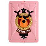 Чехол Nextouch InTheAir Throne case для Apple iPad Air (розовый, кожанный)