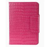 Чехол RGBMIX Smarter Cayman Case для Apple iPad Air (розовый, кожанный)