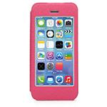 Чехол X-doria Dash Folio View для Apple iPhone 5/5S (розовый, кожаный)