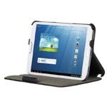 Чехол Yotrix FlipCase для Samsung Galaxy Tab 3 8.0 SM-T3100 (черный, кожанный)