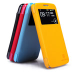 Чехол Nillkin Fresh Series Leather case для Samsung Galaxy Grand 2 G7106 (красный, кожаный)