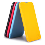 Чехол Nillkin Fresh Series Leather case для Nokia Lumia 1320 (черный, кожаный)