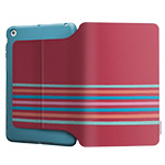 Чехол X-doria SmartStyle case для Apple iPad mini/iPad mini 2 (Peach Stripes, матерчатый)