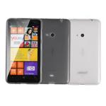 Чехол Jekod Soft case для Nokia Lumia 525 (белый, гелевый)