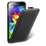 Чехол Melkco Premium Jacka Type Case для Samsung Galaxy S5 i9600 (черный, кожаный)