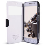 Чехол Nillkin Fresh Series Leather case для Samsung Galaxy Core Advance i8580 (черный, кожаный)