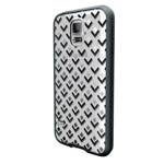 Чехол X-doria Scene Plus Case для Samsung Galaxy S5 i9600 (Black Diamonds, пластиковый)