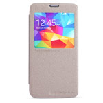 Чехол Nillkin Sparkle Leather Case для Samsung Galaxy S5 i9600 (золотистый, кожаный)