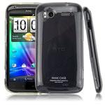 Чехол IMAK Ultra Capsul для HTC Sensation (черный)