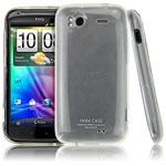 Чехол IMAK Ultra Capsul для HTC Sensation (белый)