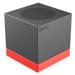 Портативная колонка HTC BoomBass с подставкой (черная, моно, беспроводная)