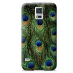 Чехол Yotrix ArtCase для Samsung Galaxy S5 SM-G900 (рисунок Перьев павлина, пластиковый)