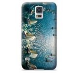 Чехол Yotrix ArtCase для Samsung Galaxy S5 SM-G900 (рисунок Парусные яхты, пластиковый)
