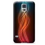 Чехол Yotrix ArtCase для Samsung Galaxy S5 SM-G900 (рисунок Пламя, пластиковый)