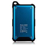 Внешняя батарея Momax iPower Tough 2 универсальная (9000 mAh, голубая, USB x 2)