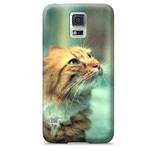 Чехол Yotrix ArtCase для Samsung Galaxy S5 SM-G900 (рисунок Кот, пластиковый)