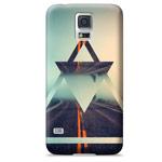 Чехол Yotrix ArtCase для Samsung Galaxy S5 SM-G900 (рисунок Дорога, пластиковый)