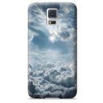 Чехол Yotrix ArtCase для Samsung Galaxy S5 SM-G900 (рисунок Облака, пластиковый)