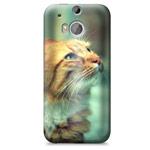Чехол Yotrix ArtCase для HTC new One (HTC M8) (рисунок Кот, пластиковый)