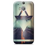 Чехол Yotrix ArtCase для HTC new One (HTC M8) (рисунок Дорога, пластиковый)