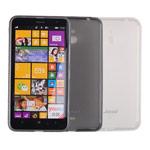 Чехол Jekod Soft case для Nokia Lumia 1320 (белый, гелевый)