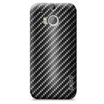 Чехол Yotrix ArtCase для HTC new One (HTC M8) (рисунок Карбон, пластиковый)