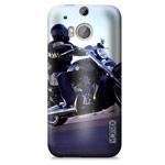 Чехол Yotrix ArtCase для HTC new One (HTC M8) (рисунок Мотоцикл, пластиковый)